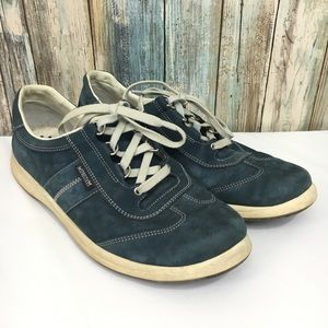 Mephisto Run Off Air Jet System Leather Oxfords